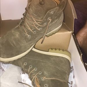 Green olive timberlands